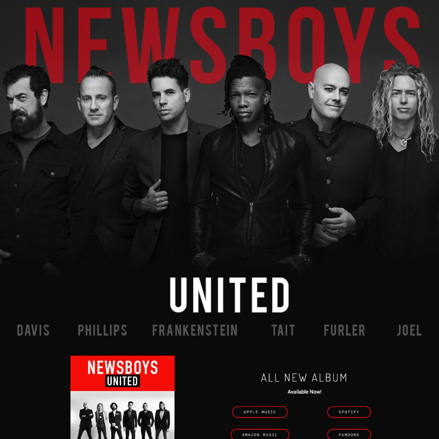 Newsboys Website